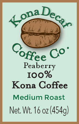 KonaDecaf Coffee Club One Pound
